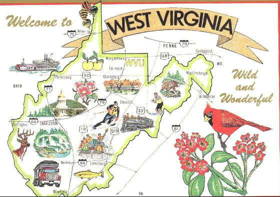 163966-Postcard_Map_of_West_Virginia-West_Virginia