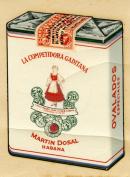 1940s Competidora Gaditana Cuban Cigarettes